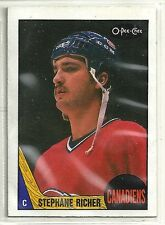 Claude Lemieux 1987-88 O-Pee-Chee Montreal Canadiens ROOKIE RC Card #233