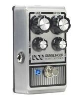 New DOD Gunslinger Mosfet Distortion Guitar Effects Pedal Digitech Harman Gain