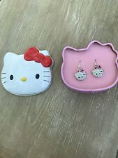 HELLO KITTY COLLECTABLE SPARKLE RINGS - From 2004 Retro Rare