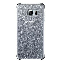 Original Samsung Galaxy S6 EDGE + Plus Purpurina Funda Silver (ef-xg928csegww)