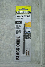 "Menard's Performax Black Oxide Drill Bit 13/64"" No Slip Shank 5 Pieces 252-8837"