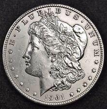 1901-o Morgan Silver Dollar.   B.U.  114741  (Inv. F)