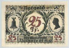 Notgeld - Gemeinde Volkstedt - 25 Pfennig 1921