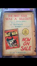 Detective Comics #43 1940 Rare CGC PG! Batman!