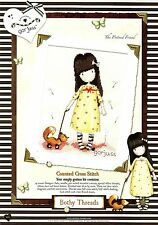BOTHY THREADS GORJUSS THE PRETEND FRIEND 16x21cm COUNTED CROSS STITCH KIT - NEW