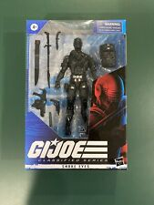 GIJOE CLASSIFIED SERIES SNAKE EYES IN HAND!  In Mint Box!!!  See Pics!!