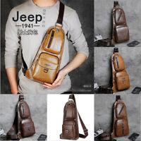 Top quality Men's Shoulder Bag Sling Chest Pack Sports Crossbody Handbag