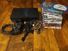 Playstation 2 lot 13 games Spider man poker NHL Madden NFL Star Wars golf Battle