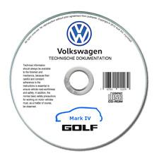 Volkswagen Golf IV (1997-2006)  manuale officina riparazione su cd