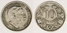 10 CENTIMES 1901 ADOLPHE LUSSEMBURGO LUXEMBOURG #6126A