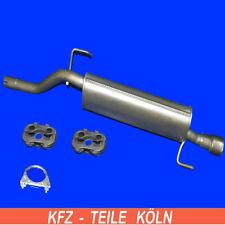 Fiat - Grande Punto - 1.4 16v - Muffler Exhaust System -