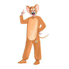 Amscan Jerry Mouse from Tom and Jerry Cartoon Gents Fancy Dress Costume Size XL