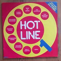 Various ‎– Hotline 1 Vinyl LP UK Pop Comp 33rpm 1983 NE1207A