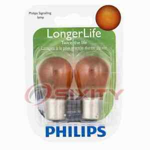 Philips 1156NALLB2 Long Life Turn Signal Light Bulb for 77854 BP1156NALL js