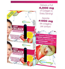 Applied Nutrition Liquid Collagen Strawberry & Kiwi Drink Mix 4000 mg 20 Tubes