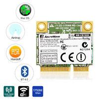 Broadcom BCM94360HMB PCIE WiFi Card 1300Mbps 802.11ac 2.4/5G WiFi+BT 4.0 Antenna