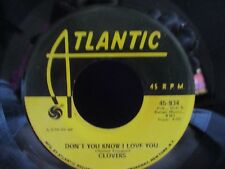 Clovers 'Skylark / Don't You Know I love You' 45