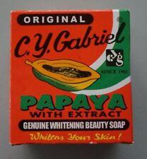 Original C.Y. Gabriel Papaya Soap Genuine Whitening Beauty Soap 60g