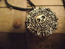 Pirates of the Caribbean Aztec Coin Pendant Necklace