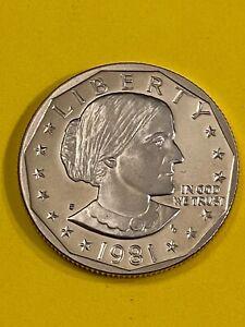 SUSAN DOLLAR 1981 S PROOF FREE SHIPPING