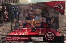 Disney/Pixar Cars 3 Podium Lightning McQueen RC Car With Playset