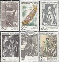 Tschechoslowakei 1981-1986 (kompl.Ausg.) postfrisch 1971 Kunst