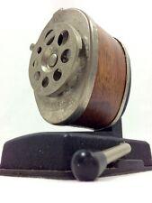 Boston Pencil Sharpener Vacuum Desk Mount Faux Wood Grain Vintage 8 Hole Size