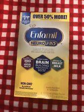 Enfamil NeuroPro Baby Formula Powder Refill 31.4 oz Exp 06/01/2021