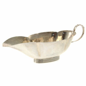 Gorham American Sterling Silver Sauce Boat Early 20th Century