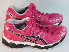 ASICS Gel Nimbus 14 Running Shoes Women's Size 7 US Excellent Condition Pink