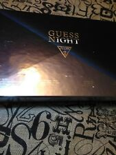 Guess Night Men's 4 Piece Gift Set NEW ORIGINAL