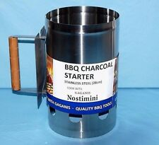 Gaganis Charcoal Starter Stainless Steel