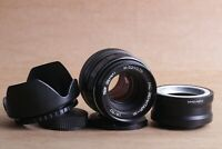⭐ Zenitar-m ⭐ 1.9/50 M42 Mount SLR Lens Camera + adapter Sony E NEX for E-mount