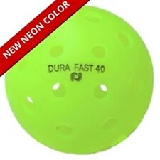 New Dura Fast 40 Outdoor Pickleball Balls 6 pak Neon Green