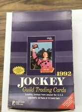 1992 Horse Racing Jockey Cards By Star 36 Packs, 12 Cards HOF included 432 cards