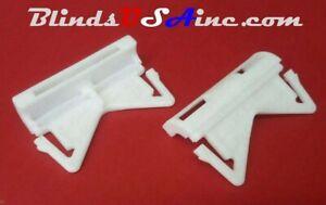 "(2) Kirsch 2-1/2"" Continental II Valance Rod END CAPS 6703-RD5 Drapery ECAP2"