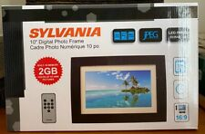 Sylvania SDPF1089 10-Inch Digital Photo Frame New LED Multimedia