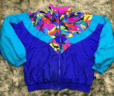 Vintage 80's 90's Nike Windbreaker White Tag Jacket Womens Large 14 Rare