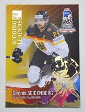 2017 BY cards IIHF WC Scoring Leaders #19 Dennis Seidenberg #/20