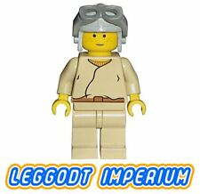 LEGO Minifigure Star Wars Anakin Skywalker aviator - sw008 minifig FREE POST