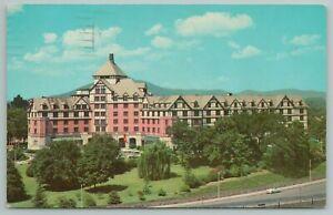 Roanoke Virginia~Hotel And Motor Inn Aerial View~Vintage Postcard