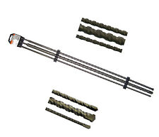 Steinbohrer Set 750 mm 3 tlg. SDS plus Bohrer Betonbohrer 75 cm (12-16-24 mm)