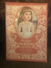"""Vintage Uncut Paper Doll by Peck-Gandre """"The Steiner� 1986 French Doll Series"""