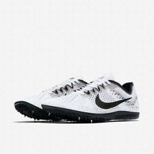 189685d3e7a5 New Nike Zoom Black White Oreo Spike Distance 835995-107 Men s Size 7  Matumbo