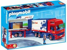 Playmobil Truck with Trailer Play Set 4323 NEW NIB Sealed Retired