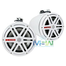 """JL AUDIO MX770-ETXv3-SG-WH 7.7"""" ENCLOSED MARINE TOWER COAXIAL SPEAKER POD SYSTEM"""