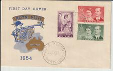 "AUSTRALIA - 1954 ""ROYAL VISIT"" ILLUSTRATED FDC"