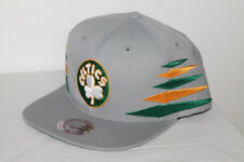 Mitchell & Ness BOSTON CELTICS SOLID DIAMOND SNAPBACK VR08Z GRAY