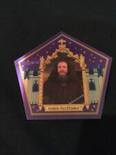 Harry Potters Godric Gryffindor chocolate frog card