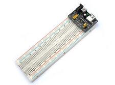 KIT BREADBOARD 830 PUNTI FORI MB102 ALIMENTATORE USB (Arduino-Compatibile)